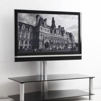 "Large picture Glass TV Stand-For Max 60"" TV"