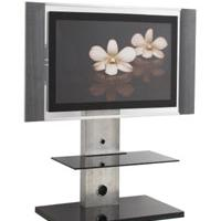 "Large picture Glass TV Stand-For Max 42"" TV"