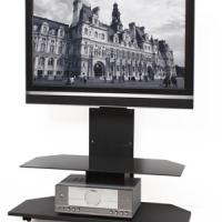 Large picture Remote Control Glass TV Stand