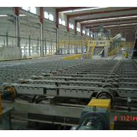 Large picture gypsum board production line