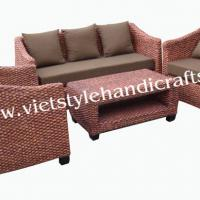 Large picture water hyacinth  Sofa set