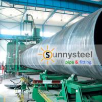 Large picture SSAW (spiral submerged-arc welding) Pipes