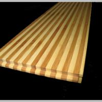 Large picture zebra vertical bamboo flooring