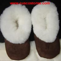 Large picture Alpaca Fur Slippers