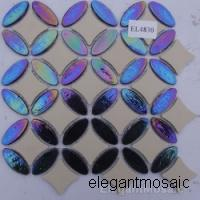 Large picture Elegant Glass Mosaic Tiles--EL4830