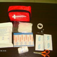 Large picture first aid bag