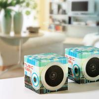 Large picture Square foldable loud speaker
