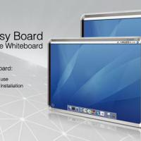 Large picture Interactive electronic whiteboard(E-780)