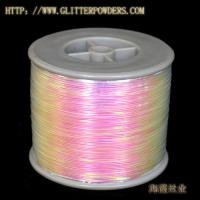 Large picture metallic yarn