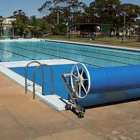 Large picture pool solar cover