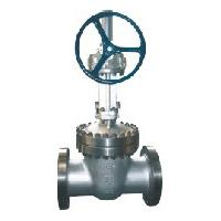 Large picture big size gate valve