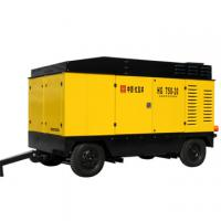 Large picture Portable Diesel Driven Screw Air Compressor