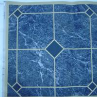 Large picture vinyl flooring