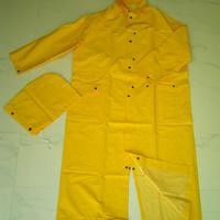 Large picture rider raincoat