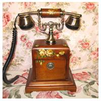 Large picture Antique telephone
