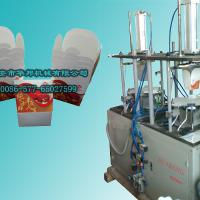 Large picture Paper food pail forming machine