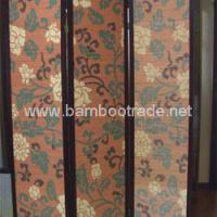 Large picture Printing bamboo screen