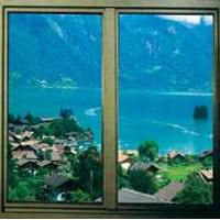 Large picture PVC window