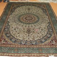 Large picture Persian silk rug