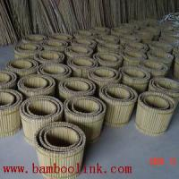 Large picture bamboo garden furniture , bamboo flowerpot