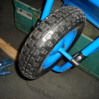 Large picture wheelbarrow wheels