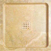 Large picture Classic-romano-travertine-shower-tray
