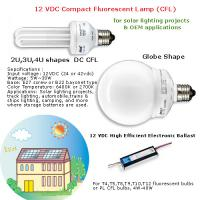 Large picture 12VDC electronic ballast dc energy saving lamp bul