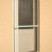 Large picture frame screen door
