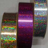 Large picture holographic ribbon