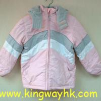 Large picture Stocklot of Girl's Wadded Jacket