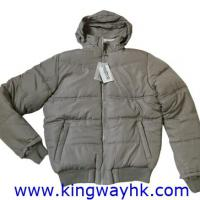 Large picture Stocklot of Mens' reversible padded jacket