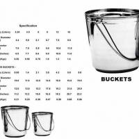 Large picture STAINLESS STEEL BUCKETS