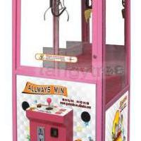 Large picture vending toy crane machine