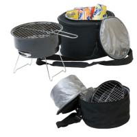 Large picture Table Top BBQ Grill with Cooler Bag