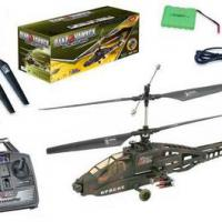 Large picture 2 Channel Remote control Helicopter/ RC Apache pla