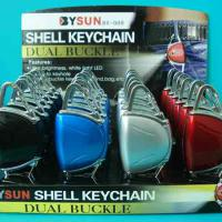 Large picture LED shell torch with key chain