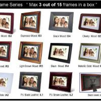 "Large picture 7"" digital photo frame"