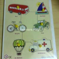 Large picture Wooden Peg Puzzle Transport