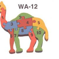 Wooden Counting Camel