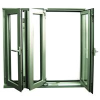 Large picture aluminum door