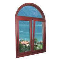 Large picture solid wood window