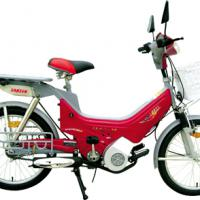 Large picture gasoline bike