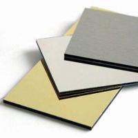 Large picture aluminum composite panel
