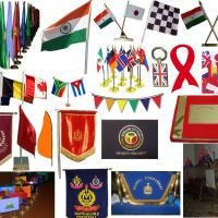 Large picture Military Flag banner garment uniform clothes ponch