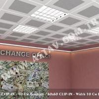 Large picture Clip-in System Ceilings