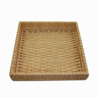 Large picture wooden basket