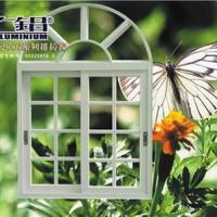 Large picture aluminum sliding window