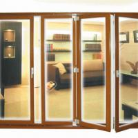 Large picture folding door