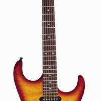 Large picture electric guitar LS-32 P