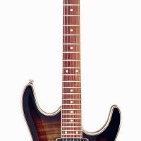 Large picture electric guitar LS-23 P-ST